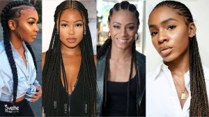 45 Gorgeous Cornrows Hairstyles for Beautiful Ladies