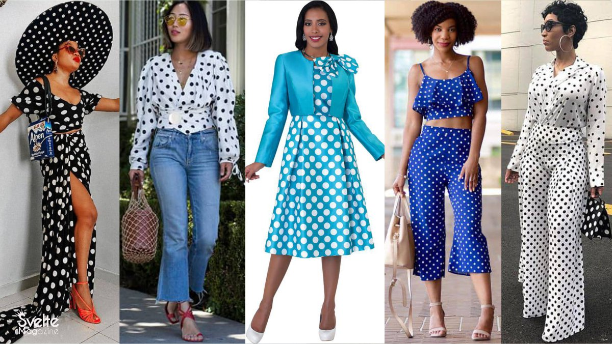How to Style Polka Dots Like a True Fashionista