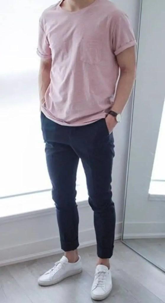 guy wearing t-shirt