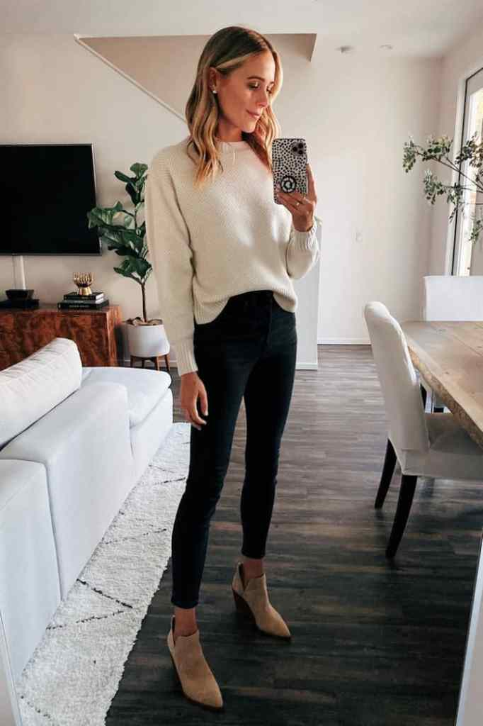 lady in a casual office wear ready to go to work
