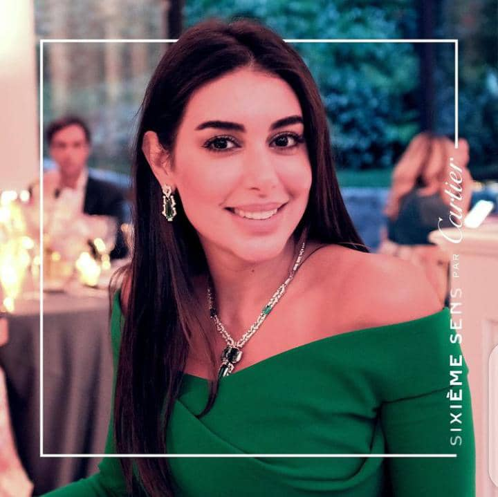 smiling lady in a luxury fashion wear