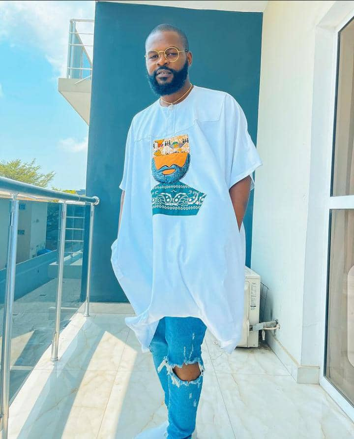 Falz rocking streetwear outfit