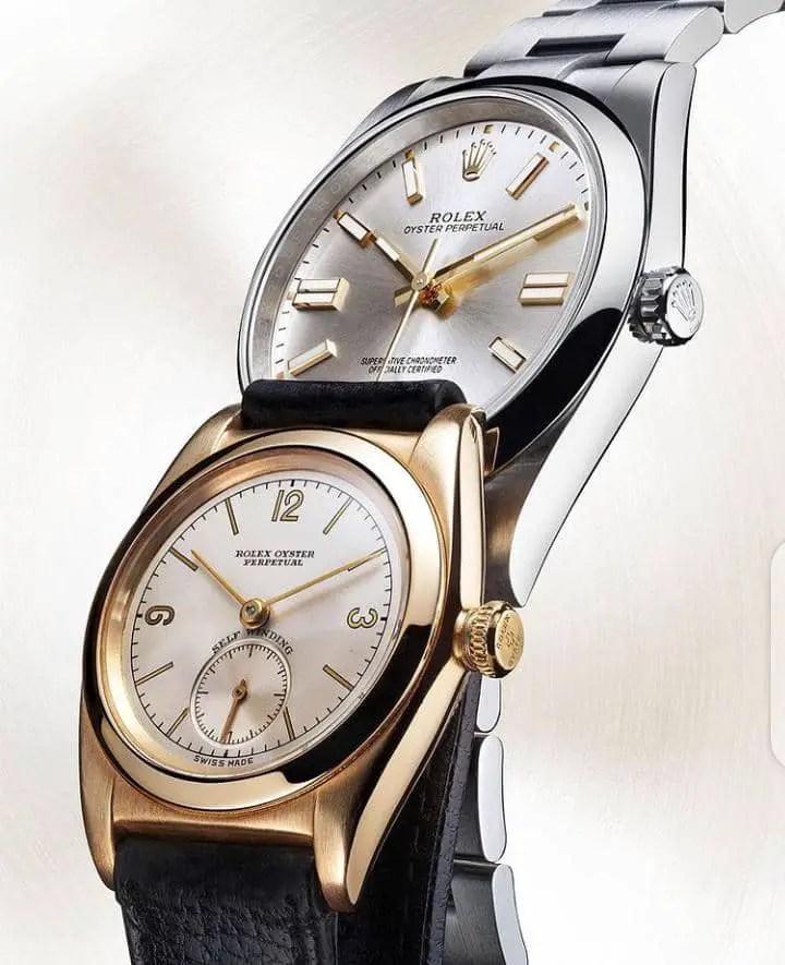 2 Rolex wristwatches