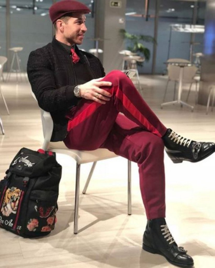 Sergio Ramos rocking stylish business casual outfit