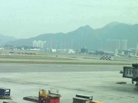 Vorfeld Hong Kong