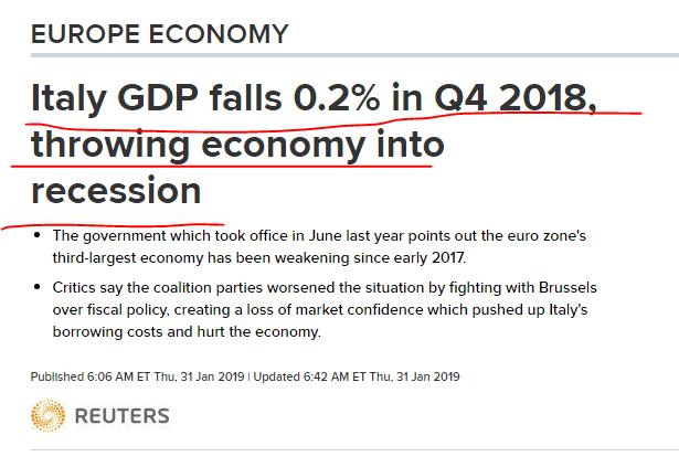 3 italy recession