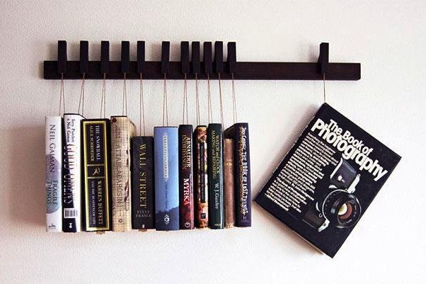 Bookshelf-Hanging