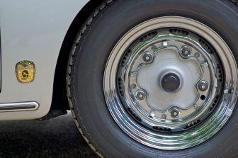 Porsche 356 verchromte Stahlfelge