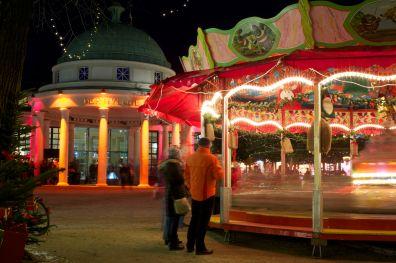Bad Pyrmont Brunnenplatz Weihnachtsmarkt 2012