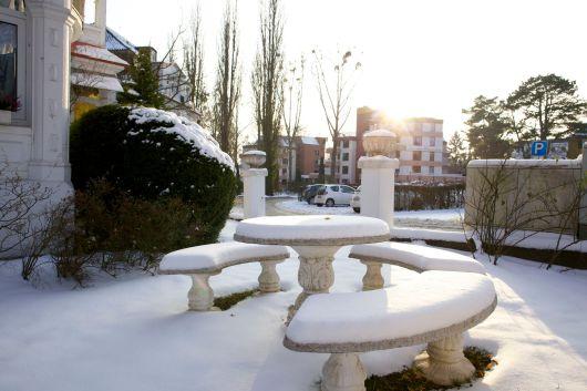 Bad Pyrmont im Winter 2013