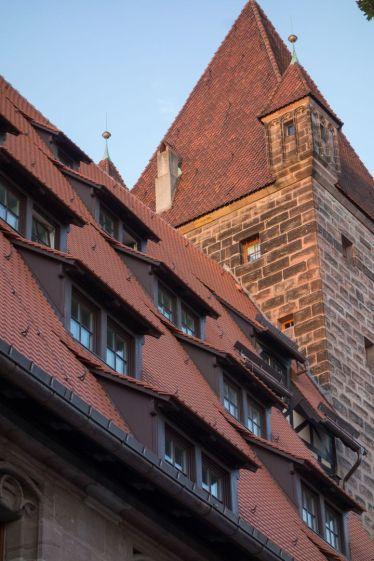 Nürnberg Dächer 2013
