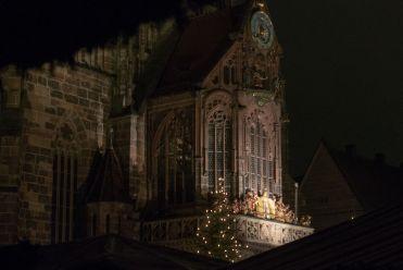 Nürnberg Christkind Frauenkirche 2015
