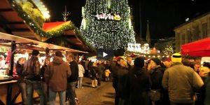 Video Flashmob Weihnachtsmarkt 2009