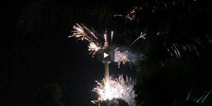 Video Lichterfest Feuerwerk Florianturm Dortmund 2009