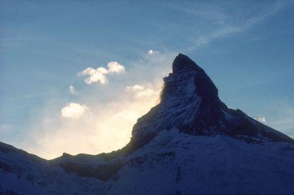 Matterhorn in Zermatt 1980