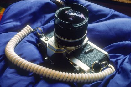 Nikon FE mit Nikkor 16mm 2.8 Fisheye