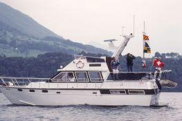Start-/Zielschiff auf dem Vierwaldstätter See 1983