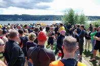 Triathlon am Möhnesee 2017