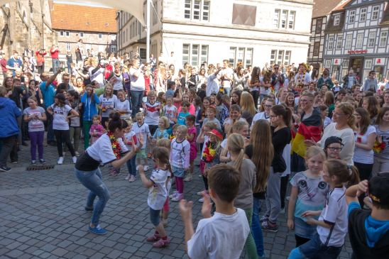 Kinder Flashmob in Hameln 2014
