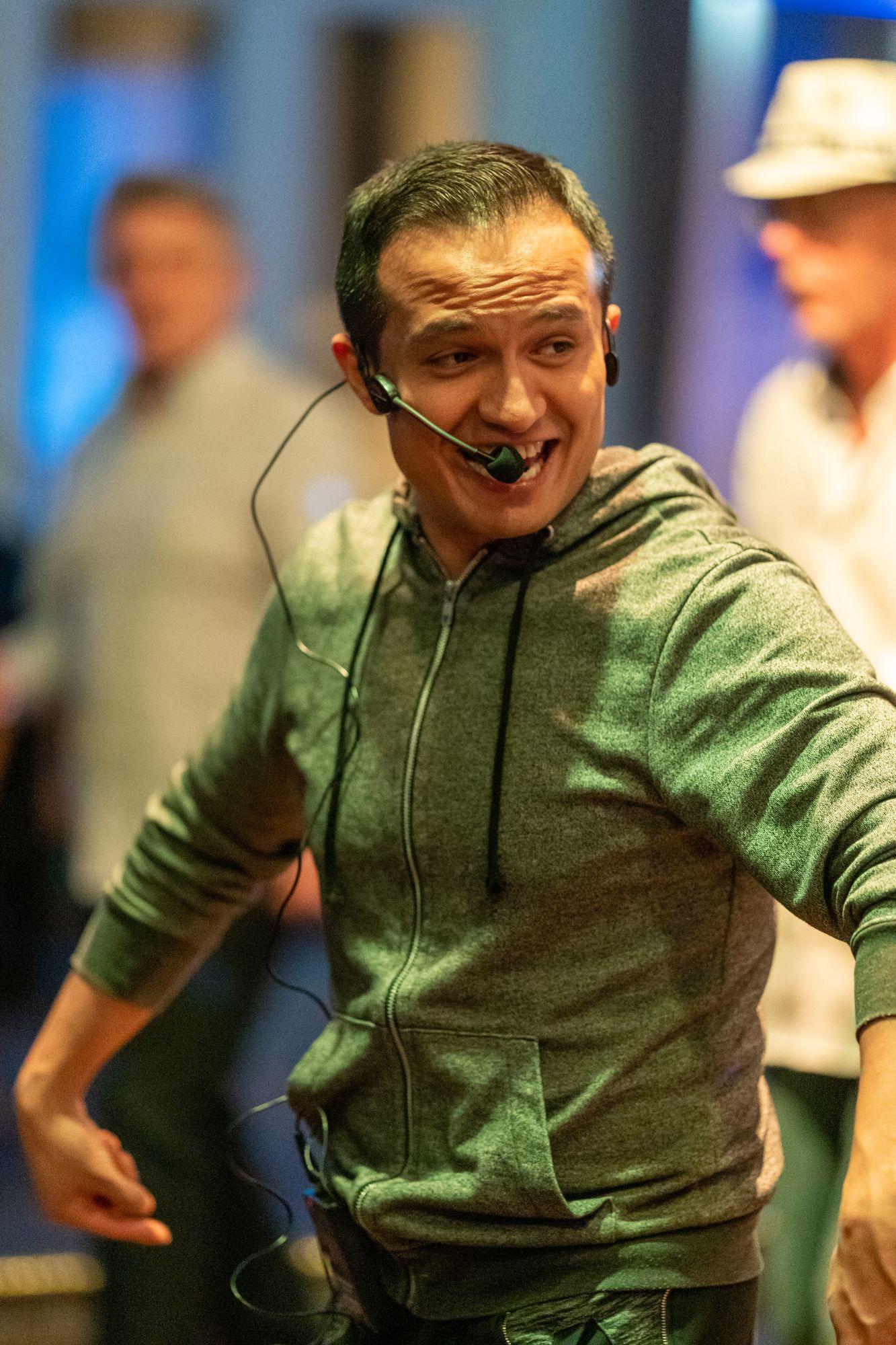 Salsa-Tanzunterricht von Oliver Chimbo auf der Salsa Night in den Haas-Sälen Bamberg am 7. März 2020