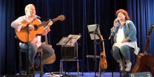Erstes Livestream Konzert 2020 Wulli & Sonja Theaterbühne fifty fifty Erlangen