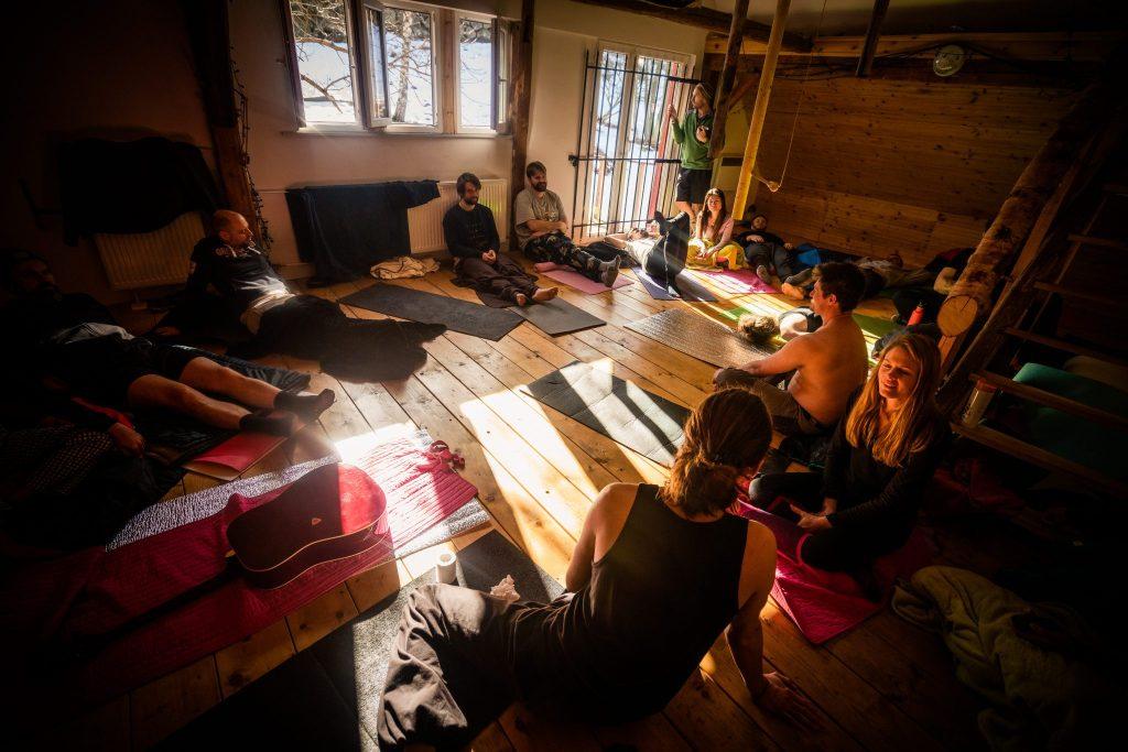 Wim Hof Winter Expedition - Sven Kimenai - Wim Hof Method Instructor & Breathwork Facilitator