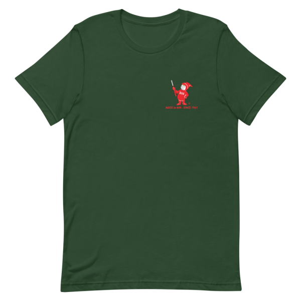 Green Sven-Saw t-shirt front view