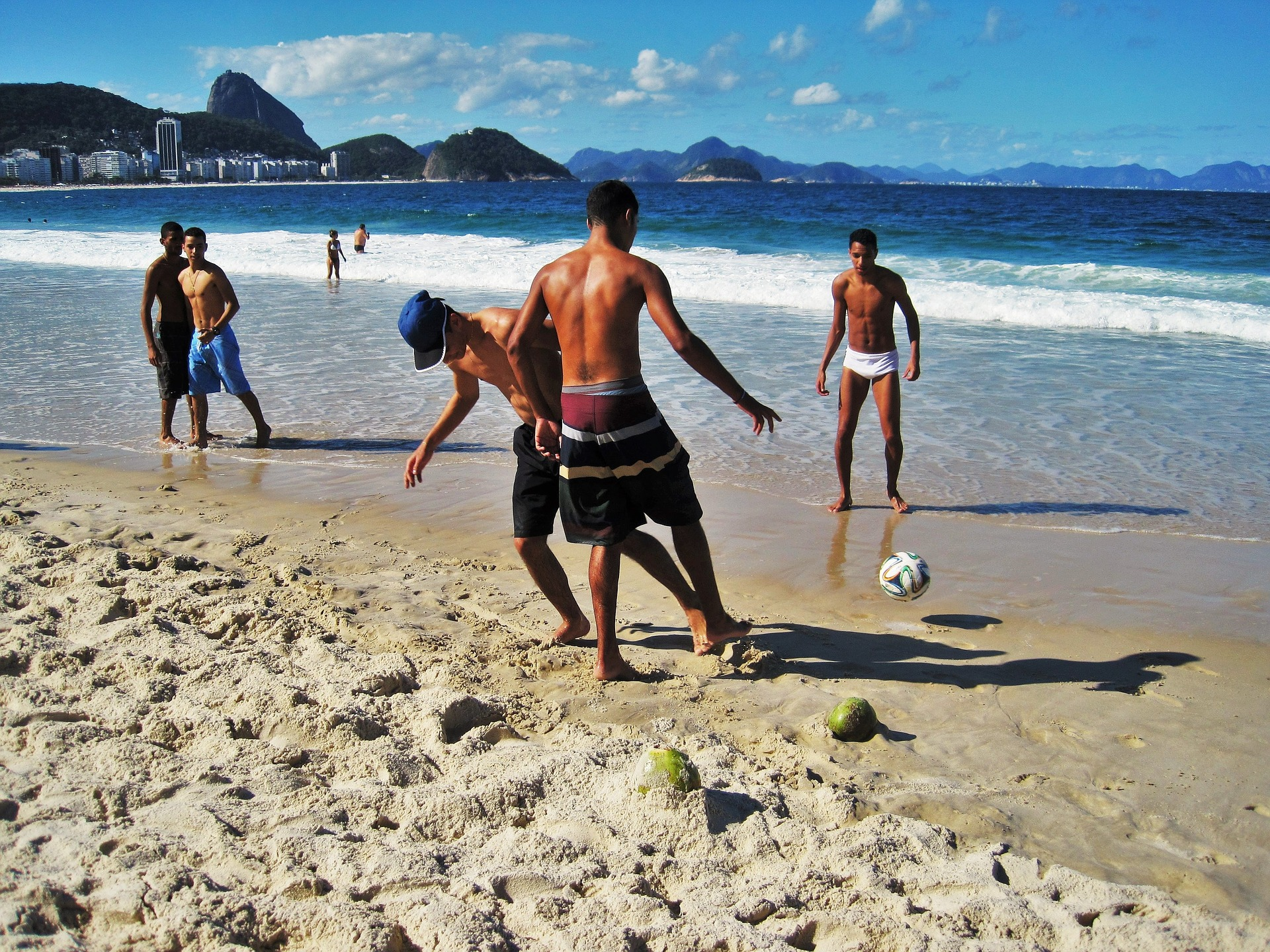 Beach ball brasilien reseinspiration