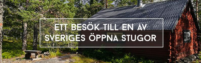 Ett besök till en av Sveriges Öppna Stugor
