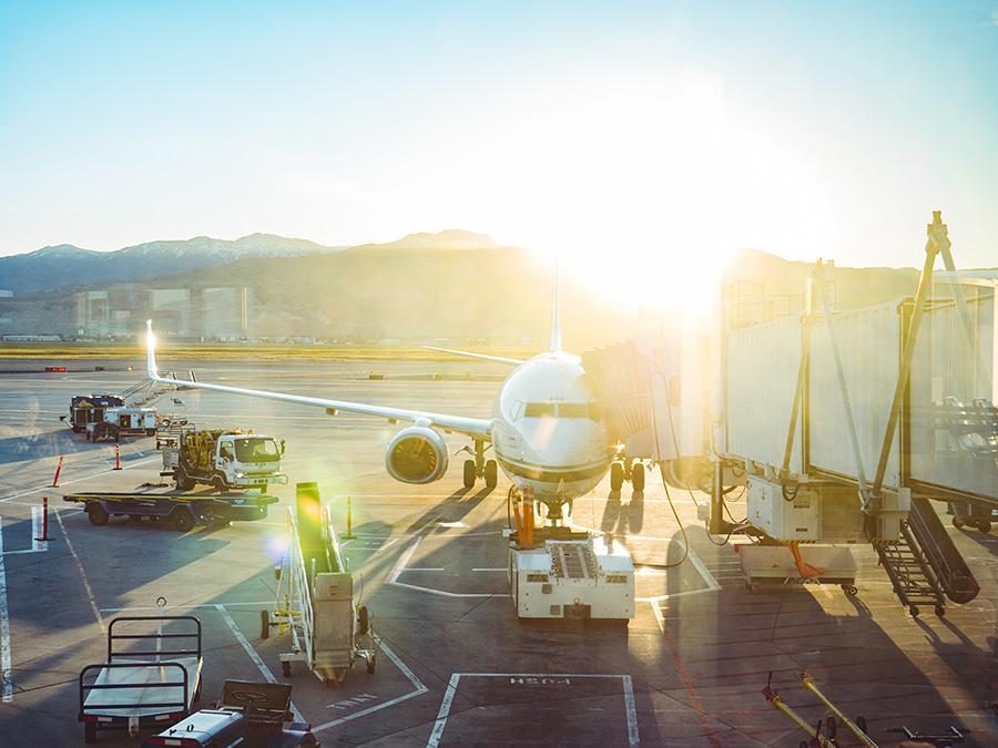 Flygplansbild Hur är det att flyga i Asien?