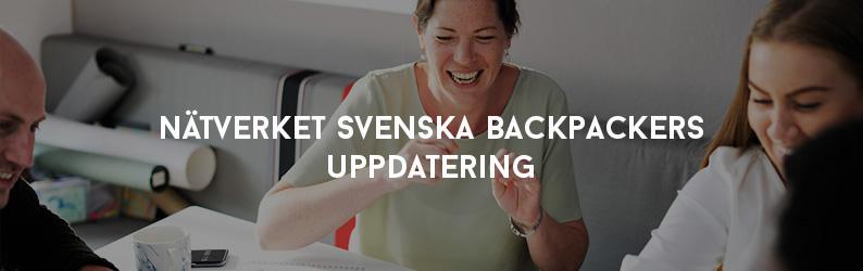 Nätverket Svenska Backpackers Uppdatering
