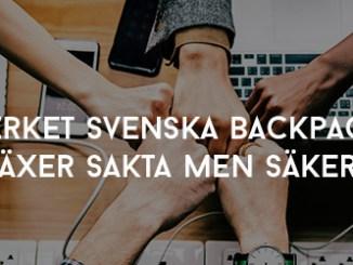 Nätverket Svenska Backpackers växer sakta men säkert