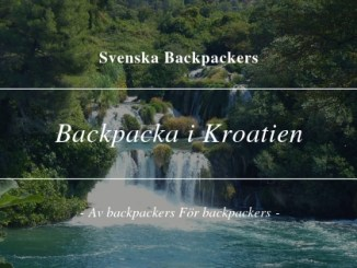 Backpacka i Kroatien
