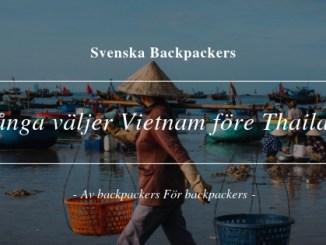 Många väljer Vietnam före Thailand