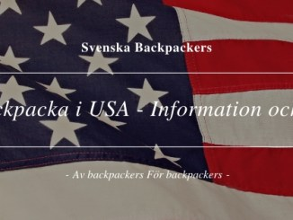Backpacka i USA - Information och tips