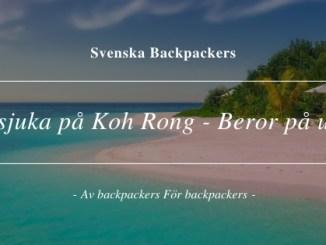Magsjuka på Koh Rong - Beror på utsläpp
