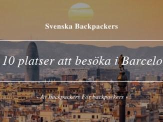 10 platser att besöka i Barcelona
