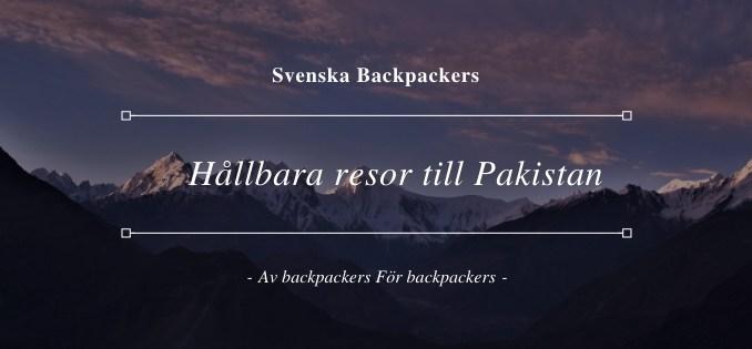 Hållbara resor till Pakistan med Intrepid Travel