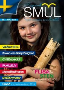 Magasinet SMUL:s framsida pryds av Flisa från Julkalendern.