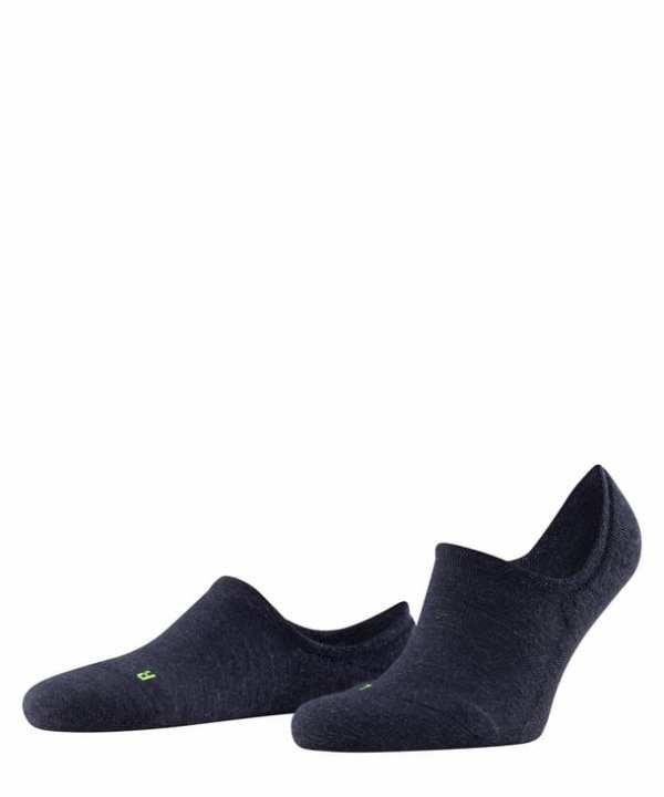 Falke Keep Warm Invisible Sneakersock for men Dark Sapphire