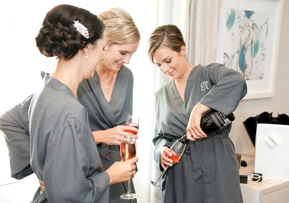 Bridal preparation wine
