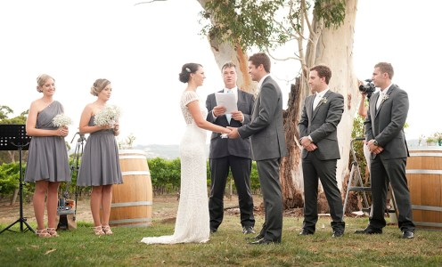 Bride and groom again