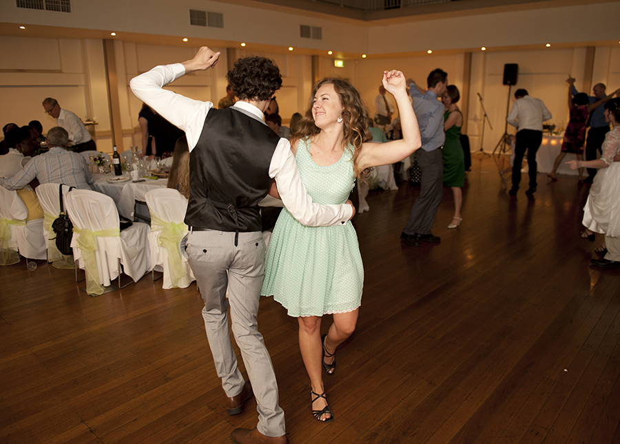 Dancing at Unley Town Hall