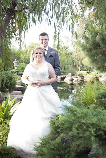 Standing in Adelaide Himeji Gardens