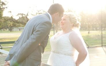 Tennis kiss