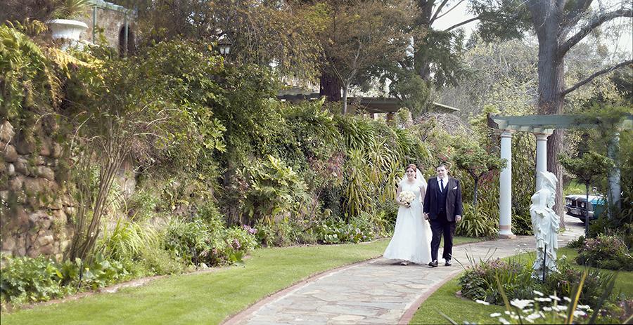Bride at Camelot Castle