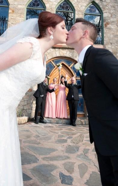 Kissing at Camelot Castle