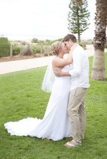 Wedding on Grange Beach