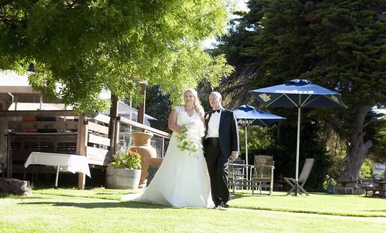 Wedding at leonards Mill Second Valley