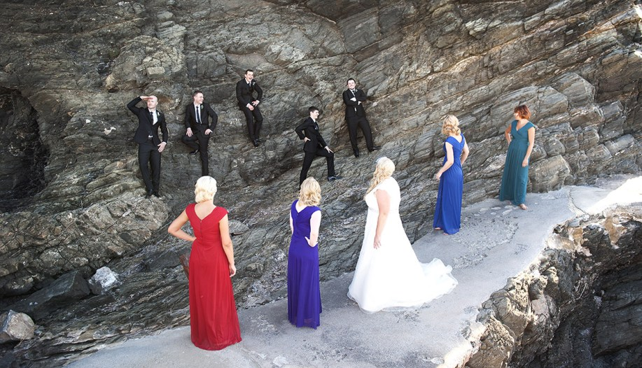 Bridal Party in Second Balley